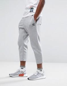 Серые укороченные джоггеры adidas Originals Chicago Pack BK0555 - Серый