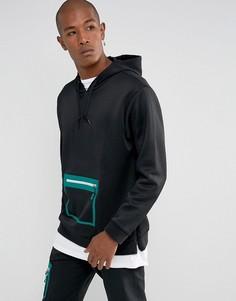 Черный худи adidas Originals EQT Macadam BQ2080 - Черный