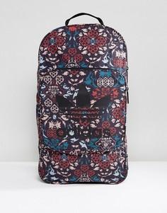 Черный рюкзак с принтом adidas Originals - Черный