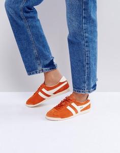 Оранжевые замшевые кроссовки Gola Bullet - Оранжевый