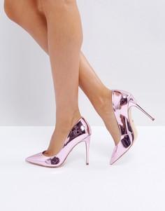Туфли-лодочки цвета розового золота ALDO Stessy - Золотой