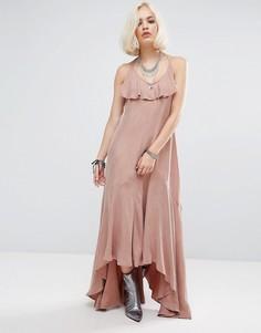 Платье макси Religion Moonlilght - Серый