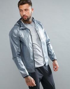 Серая спортивная куртка Saucony Running Exo SAM800015-FSP - Серый