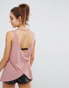 Майка с открытой спиной Minkpink - Розовый