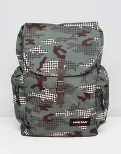 Рюкзак с камуфляжным принтом Eastpak Austin - Оранжевый
