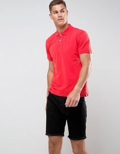 Футболка-поло с логотипом на груди Tom Tailor - Красный