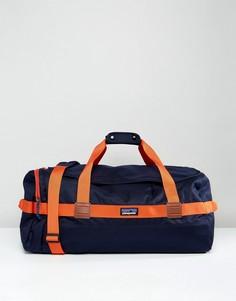 Сине-красная сумка дафл Patagonia Arbor - 60 л - Темно-синий