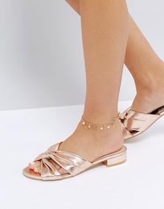 Браслет на ногу ASOS - Золотой