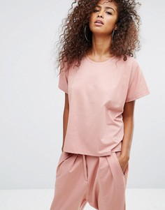 Свободная футболка Puma Velvet Rope - Розовый