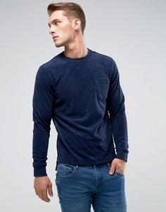 Махровый свитер Blend - Темно-синий