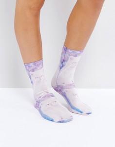 Носки с котами Monki - Мульти