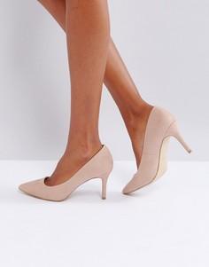 Туфли-лодочки на каблуке New Look - Бежевый
