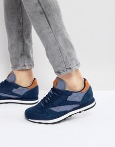 Кожаные кроссовки Reebok Classic CH - Синий