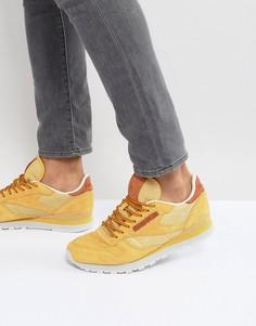 Кожаные кроссовки Reebok Classic OL - Бежевый