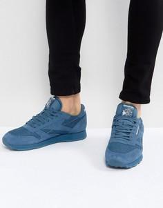 Кожаные кроссовки Reebok - Синий
