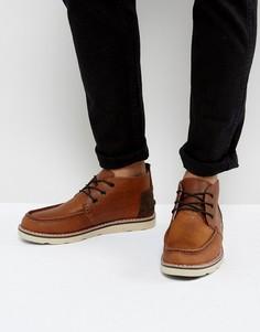 Непромокаемые кожаные ботинки чукка TOMS - Коричневый