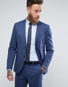 Зауженный пиджак Jack & Jones Premium - Синий