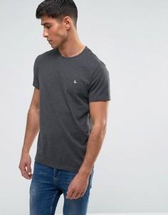 Темно-серая футболка Jack Wills Sandleford - Серый