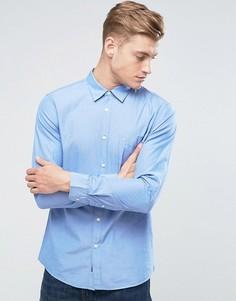 Синяя рубашка классического кроя Jack Wills - Синий