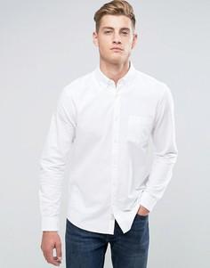 Белая оксфордская рубашка классического кроя Jack Wills Wadsworth - Белый