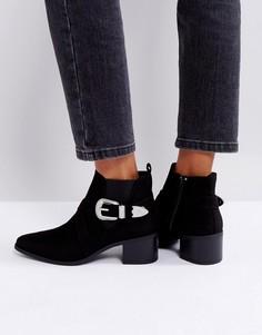 Ботинки челси в стиле вестерн New Look - Черный