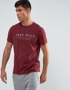 Футболка Jack Wills Westmore - Красный