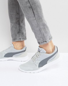 Серые кроссовки Puma Duplex Evo Knit - Серый