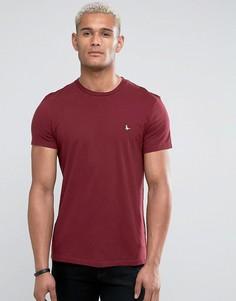 Темно-красная базовая футболка Jack Wills Sandleford - Красный