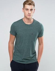 Зеленая узкая футболка с карманом Jack Wills Ayleford - Зеленый