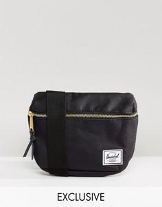 Черная сумка-кошелек на пояс Herschel Supply Co. Fifteen - Черный