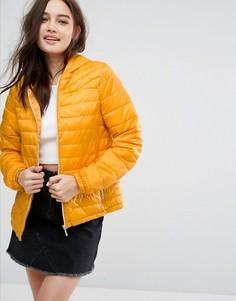 Легкая дутая куртка New Look - Желтый