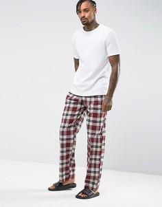 Пижамные штаны в клетку Tokyo Laundry - Красный