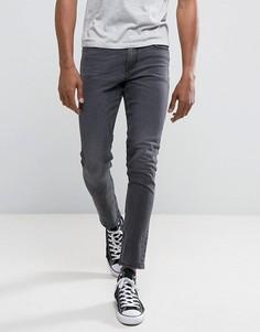 Черные выбеленные джинсы скинни New Look - Черный