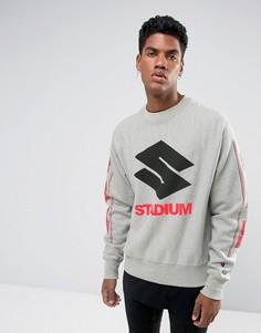 Серый свитшот Justin Bieber Stadium Tour Champion - Серый