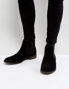 Черные ботинки челси New Look - Черный