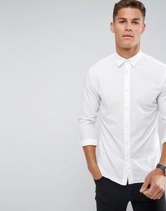 Узкая оксфордская рубашка Selected Homme - Белый