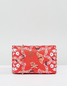 Вечерняя сумка с цветочным принтом Ted Baker - Красный