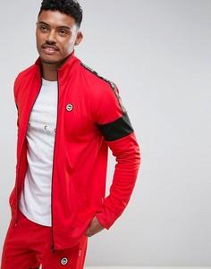 Красная спортивная куртка с кантом Hype x Coca Cola - Красный
