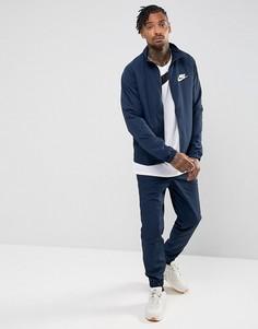 Темно-синий спортивный костюм Nike 861778-451 - Темно-синий