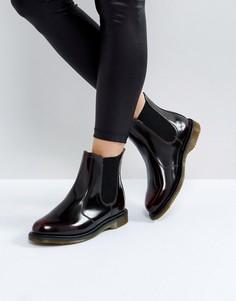 Ботинки челси каштанового цвета Dr Martens Kensington Flora - Рыжий