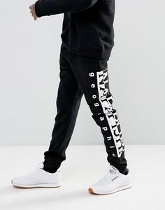 Черные спортивные штаны с логотипом Napapijri Tier 1 - Черный