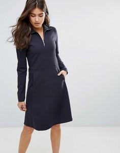 Платье на молнии Wood Wood Janet - Синий