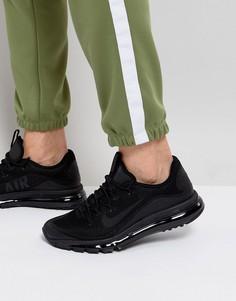 Черные кроссовки Nike Air Max More 898013-002 - Черный
