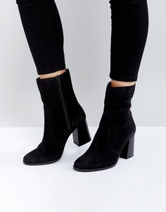 Замшевые ботинки ASOS REFLECT - Черный