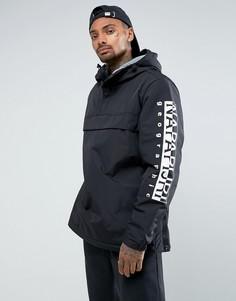 Черная куртка с логотипом Napapijri - Черный