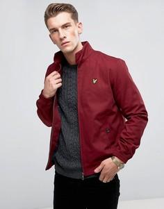 Бордовая куртка Харрингтон Lyle & Scott - Красный