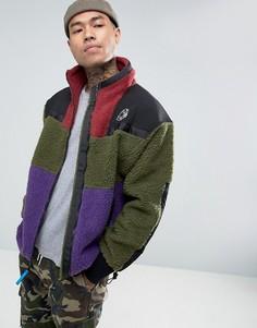 Флисовая куртка на молнии Billionaire Boys Club - Зеленый