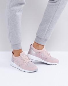 Розовые кроссовки с отделкой цвета розового золота New Balance 420 - Розовый