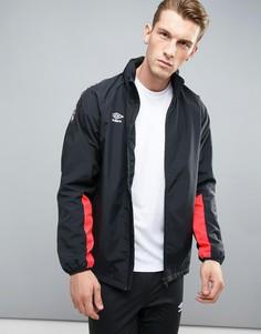 Спортивная куртка с контрастной отделкой Umbro - Красный