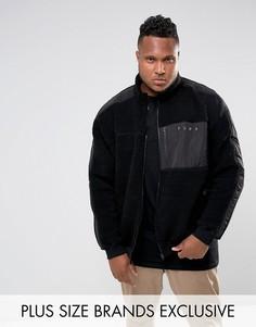 Черная куртка из искусственного меха Puma PLUS эксклюзивно для ASOS 57658402 - Черный